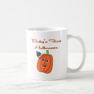 Primer Halloween del bebé Taza De Café