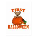 Primer Halloween Postal