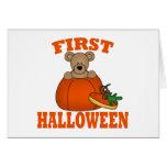Primer Halloween Tarjetón