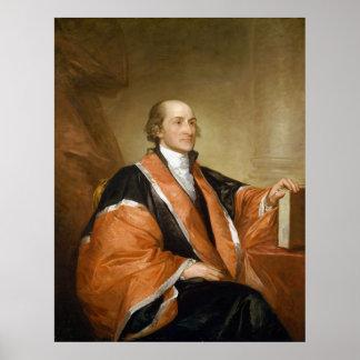 Primer juez del Tribunal Supremo Juan Jay de Póster