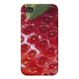 Primer lleno del marco de una fresa iPhone 4 carcasa