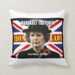 Primer ministro de Margaret Thatcher Almohadas