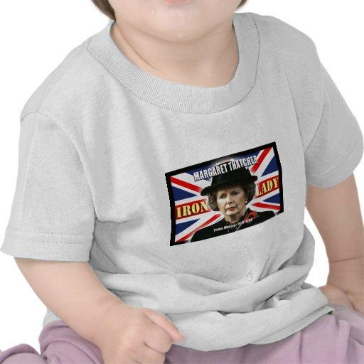 Primer ministro de Margaret Thatcher Camisetas