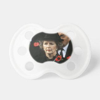 Primer ministro de Margaret Thatcher Chupete De Bebe