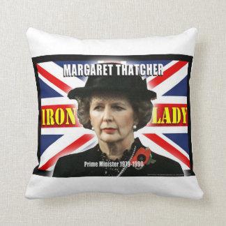 Primer ministro de Margaret Thatcher Cojín