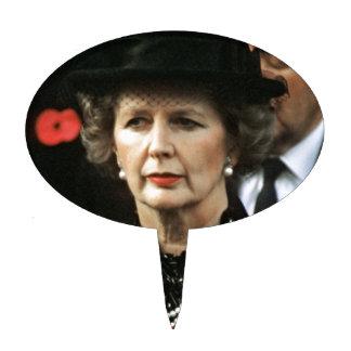 Primer ministro de Margaret Thatcher Decoraciones Para Tartas