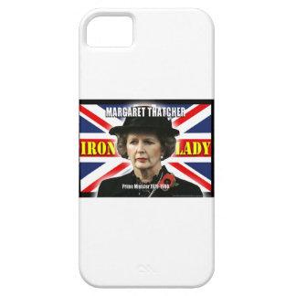 Primer ministro de Margaret Thatcher iPhone 5 Case-Mate Coberturas