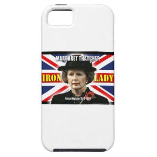 Primer ministro de Margaret Thatcher iPhone 5 Case-Mate Carcasas