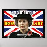 Primer ministro de Margaret Thatcher Impresiones