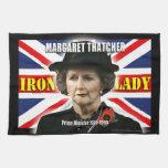 Primer ministro de Margaret Thatcher Toalla De Cocina