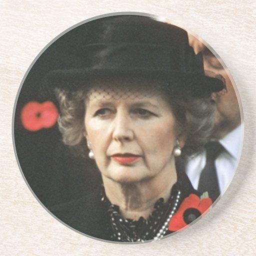 Primer ministro de Margaret Thatcher Posavasos Cerveza