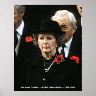 Primer ministro de Margaret Thatcher Póster