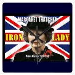 Primer ministro de Margaret Thatcher Reloj De Pared