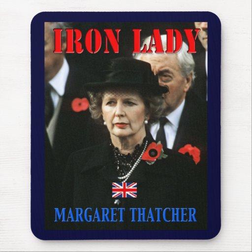 Primer ministro de Margaret Thatcher Tapetes De Raton