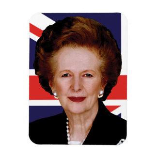 Primer ministro Margaret Thatcher Imanes Rectangulares