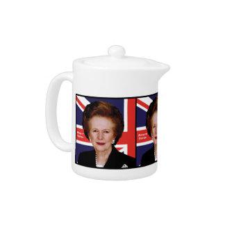 Primer ministro Margaret Thatcher - la dama de hie