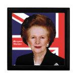 Primer ministro Margaret Thatcher - la dama de hie Cajas De Recuerdo