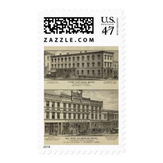 Primer National Bank Timbre Postal