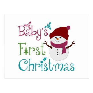 Primer navidad adorable de Babys Postales