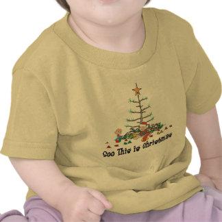 Primer navidad camisetas