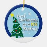 Primer navidad como hermano MAYOR Adorno Para Reyes