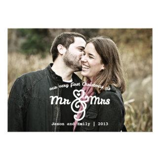 Primer navidad como Sr. y señora Holiday Photo Car
