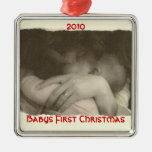 Primer navidad de Babys, 2010 Adorno De Navidad
