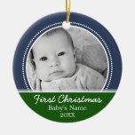 Primer navidad de Babys Adornos De Navidad
