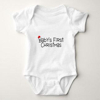 Primer navidad de Babys Camisas