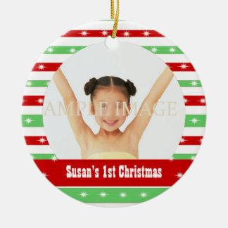 Primer navidad de Babys Ornamento De Reyes Magos
