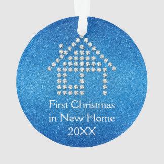 Primer navidad en el nuevo hogar - azul