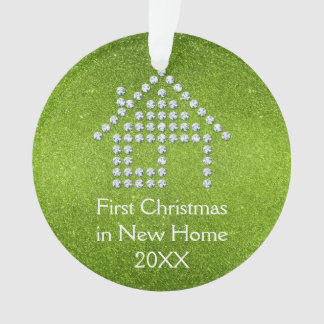 Primer navidad en el nuevo hogar - verde