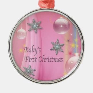Primer navidad Orna del bebé del navidad de la niñ Adornos De Navidad