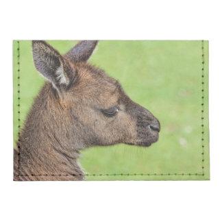 Primer o retrato del wallaby tarjeteros tyvek®