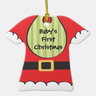 Primer ornamento de la camiseta del babero de Sant Ornamente De Reyes