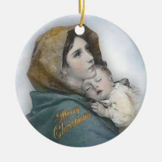 Primer ornamento de la foto del navidad de la nati ornamento para reyes magos