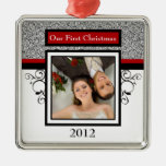 Primer ornamento de la foto del navidad ornaments para arbol de navidad