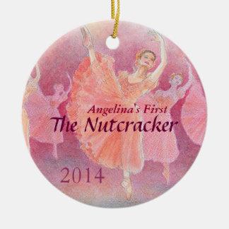 Primer ornamento del ballet del cascanueces de su ornaments para arbol de navidad