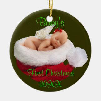 primer ornamento del navidad de los babys ornamentos para reyes magos