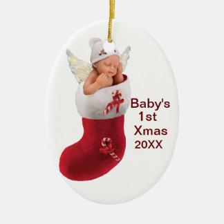primer ornamento del navidad de los babys - person adorno de navidad