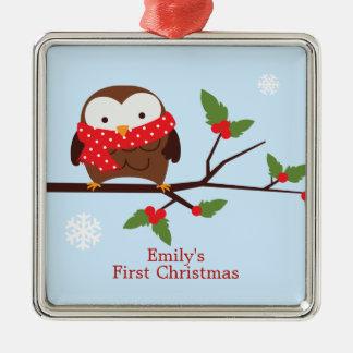 Primer ornamento del personalizado del navidad del adorno de reyes