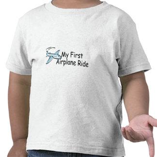 Primer paseo del aeroplano del aeroplano camiseta