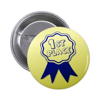 Primer Pin del botón del premio del lugar