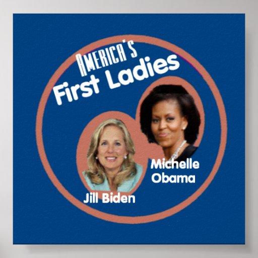 Primer poster de las señoras de Michelle Jill