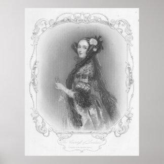 Primer programador: Ada Lovelace Póster