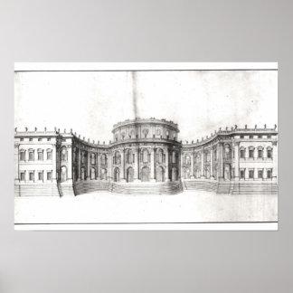 Primer proyecto para el Louvre Poster