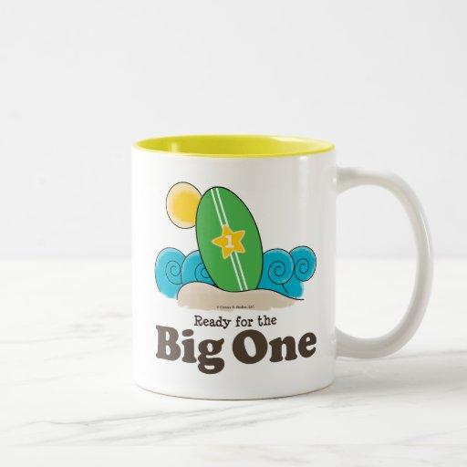 Primer recuerdo de la taza del bebé de la resaca