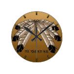 Primer reloj de pared de la tribu de la nación del