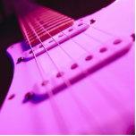 Primer rosado 2 de la guitarra eléctrica del tono escultura fotografica
