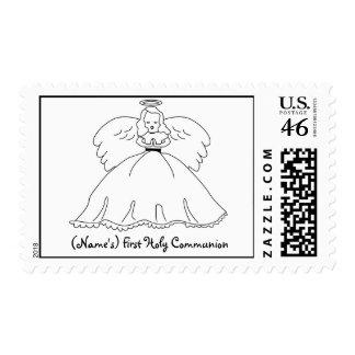 Primer sello personalizado de la comunión santa